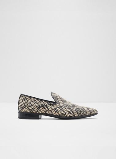 Aldo Brandemeer - Bej Desen Erkek Loafer Bej